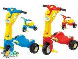 六一儿童节礼物 儿童滑板车 三轮车 2合1 童车脚踏车 耐摔09