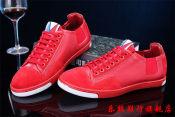 新款时尚潮流真皮男鞋广州外贸品牌日常休闲鞋子单鞋一件代发微信