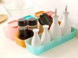 日式抽屉多用整理盒 厨房餐具收纳盒 塑料杂物小储物盒