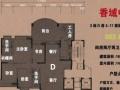 山姆会员旁香域中央花园,4房170平2200万红本5年送车位
