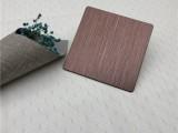 缎纹不锈钢板 304哑光缎纹不锈钢装饰板
