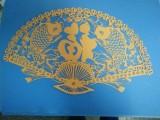 彩色卡纸激光切割 雕花 镂空 北京精细切割