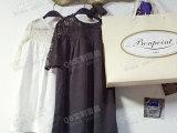 现货 QB定制童装 女宝宝纯天丝蕾丝连衣裙 六一儿童节礼服 女童