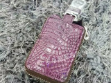 南通市高质量的鳄鱼皮西装票夹批发-高档鳄鱼皮钥匙包