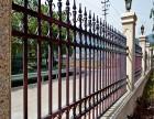 河南洛阳金冠围栏护栏 河南锌钢护栏道闸升降杆电动门伸缩门厂家