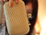 2014新款蛇纹骷髅头晚宴包单肩斜挎小包小盒子包休闲包手机包