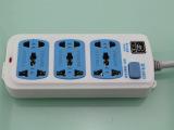批发恒致8804多孔移动电源插座 接线板插线板3米、5米电线