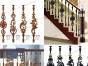 红木楼梯扶手、实木别墅楼梯