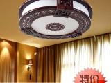 曹木匠古典羊皮灯吸顶灯仿古木艺中式灯卧室
