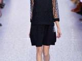 2014春夏新款 明星范冰冰同款网纱波点时尚两件套 批发
