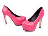 2014新款厚底细跟女鞋 超高跟鞋单鞋 厂家批发单鞋代发