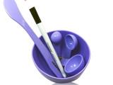 diy调面膜美容美妆用品工具四件套面膜碗面膜棒面膜刷计量器