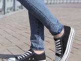 2014夏款帆布鞋女韩版潮女鞋厚底松糕鞋低帮休闲单鞋学生板鞋布鞋