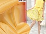 【现货直销】 40D经编面料 莹光涤纶针织里子布 莹光服装布料