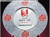 厂家热销纯锡奖牌样式 肯德基分店开业纪念 纯锡品牌授权奖牌