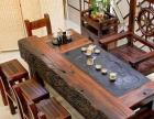 老船木茶桌椅组合仿古功夫小茶几简约现代办公茶台新中式实木茶桌