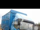 4.5米大黄牌高梆花栏货车