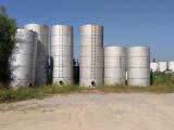 白山市出售二手40吨食品级不锈钢储罐