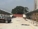 PVDF充電樁張拉膜結構停車棚工程