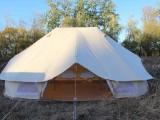 豪华双顶蒙古包户外露营帐篷OEM