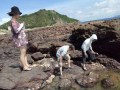 惠州巽寮湾出海捕鱼漂流天后宫烧烤磨子石二日游