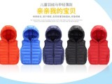 儿童棉服羽绒服批发货源厂家供应马甲内胆背心外套