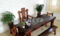 广元直销万达船木沉船木阳台茶桌实木泡茶桌船木茶桌