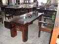 厂家直销老船木家具批发客厅茶几中式功夫茶桌实木功夫茶几