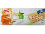泰国Bissin贝斯娜椰子威化饼干100g
