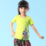 酷芘鱼 童装批发外贸童装 分销 2014新款纯棉童t恤 儿童短袖上衣