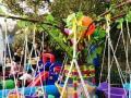 如图:夜市公园广场,活动展会,儿童游乐沙滩池组合,规格为