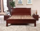 实木床最好选木言木语608,简单大方木架床