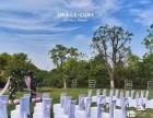 小木屋草坪婚礼:自从遇见你,余生皆欢喜