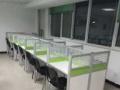 低价甩卖屏风办公桌钢架办公桌隔断办公桌电脑桌椅子。