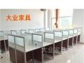 杭州大业家具办公桌4人位组合 带柜子实惠员工桌 杭