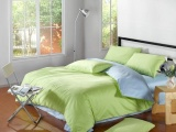 带发票 欧美款全棉素色纯色单色床单床笠款