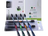 出口韩国 清洁口腔护理 深层清洁牙刷S4966韩国小头碳牙刷JC