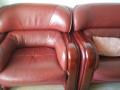 出售二手组合沙发,真皮,实木,奥赛宝牌