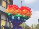 昆明花語花香氣球裝飾氣球布場氣球寶寶宴氣球生日宴