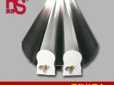 T5一体双支带罩支架日光灯,双管LED日光灯管T5铝支架带罩灯管