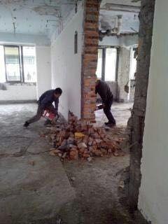 洪山区关山 光谷拆除,敲墙,打地坪,敲瓷砖,清运拉圾,拆旧