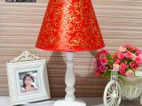 欧式创意简约个性现代家居结婚喜庆礼物卧室装饰床头木艺台灯批发
