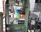 回收家具办公用品饭店厨具后厨设备冰相冰柜空