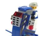 泰仹巧乐童儿童益智拼装小颗粒乐高式积木玩具 星际陆战机TS201