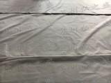 苏州挡烟垂壁银灰色防火帆布