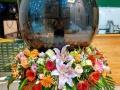 柳州同城速递,台面花,花球,讲台花,会议用花,花篮
