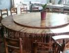 老厂直销火焰鹅餐厅桌椅,醉鹅餐厅桌椅,农庄桌椅,碳化桌椅快