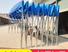 新洲专业制作大型仓库帐篷推拉活动雨棚固定帆布雨棚大排档雨棚