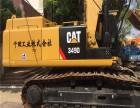 二手纯进口49吨卡特彼勒钩机挖掘机