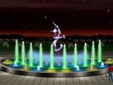 流水喷泉假山